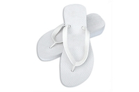 Sassy Wedge White Color Flip Flop