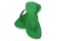 Sassy Wedge Green Color Flip Flop