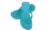 Sassy Wedge Turquoise Color Flip Flop
