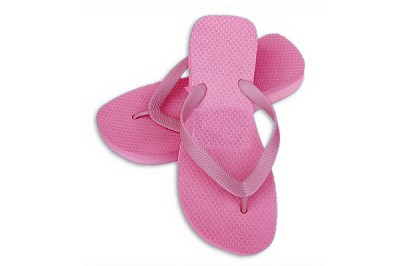 Sassy Wedge Pink Color Flip Flop